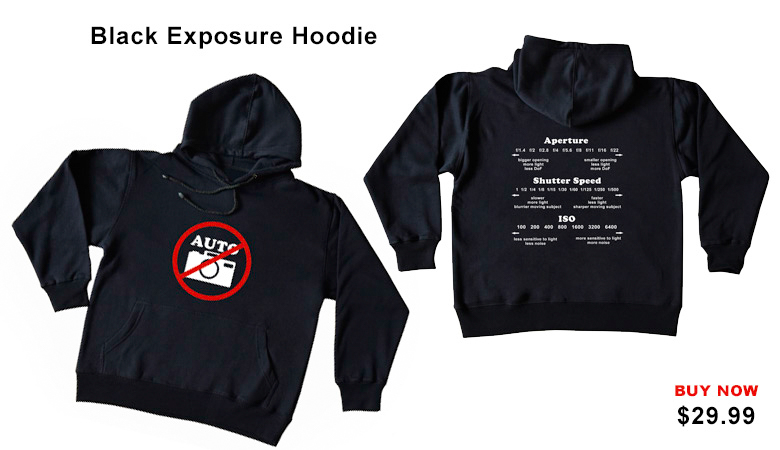 Black Exposure Hoddie