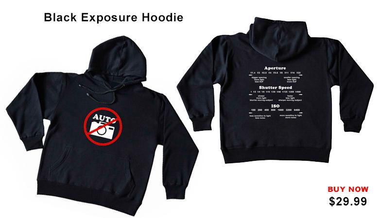 Black Exposure Hoddie