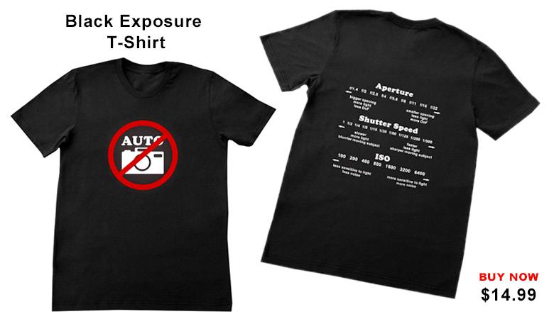 Black Exposure T-shirt